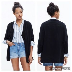 Madewell | Black Seabank Cardigan Sweater